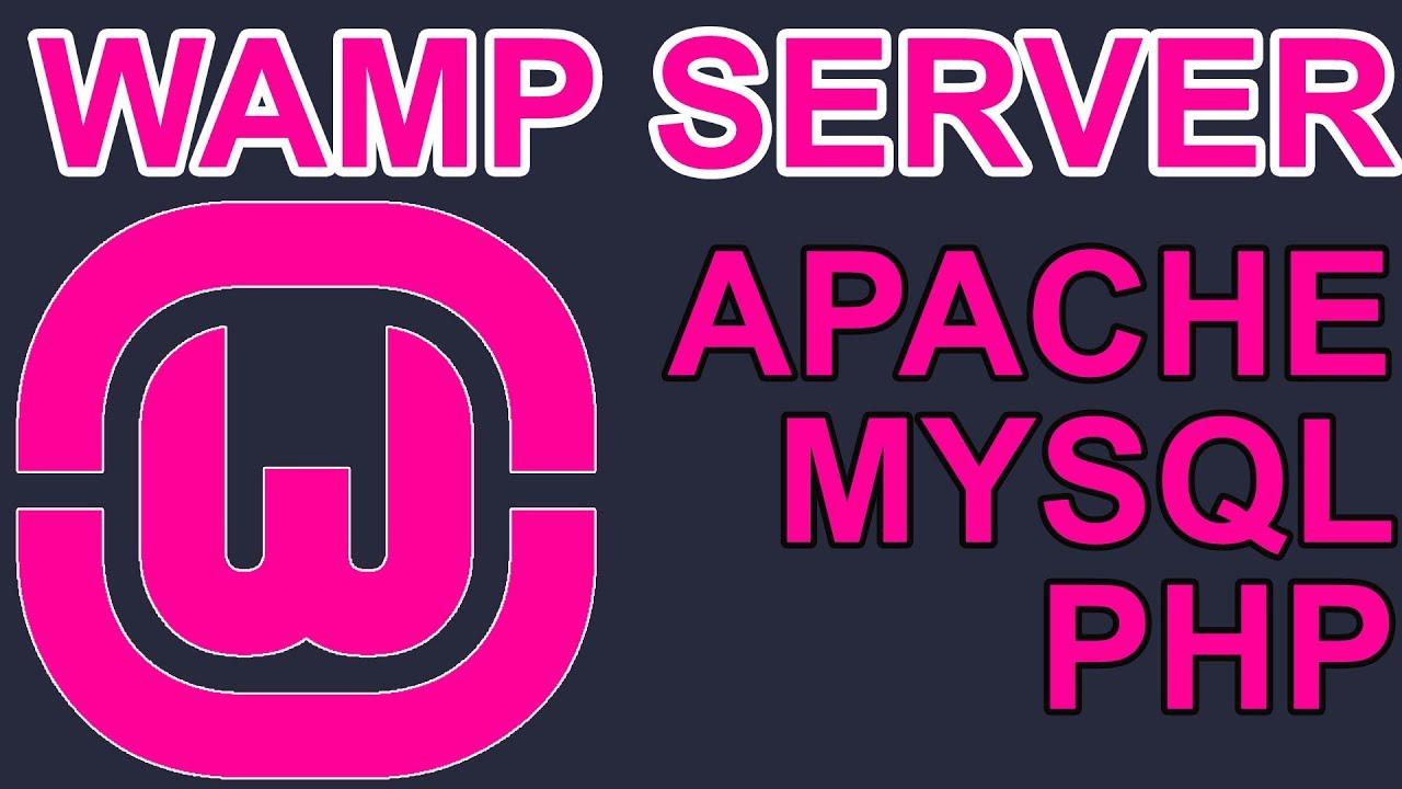 Wamp Server Kurulumu Windows, Apache, MySQL, PHP
